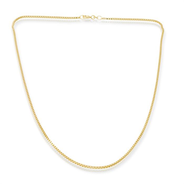 585er Goldkette: Venezianerkette Gold 55cm