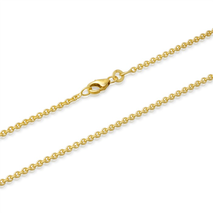 333er Goldkette: Ankerkette Gold 45cm