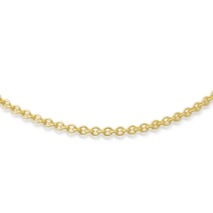 333er Goldkette: Ankerkette Gold 50cm