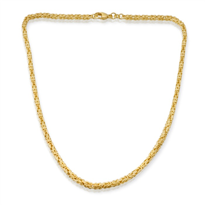 585er Goldkette: Königskette Gold 45cm