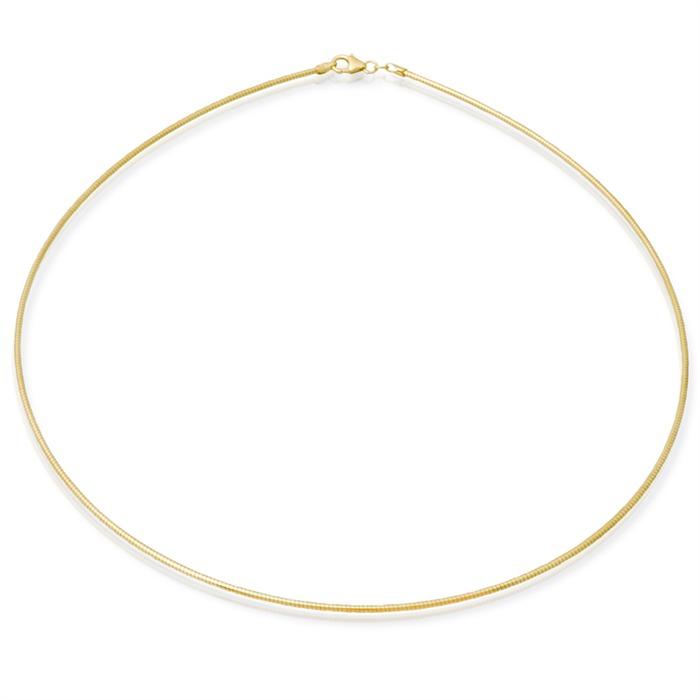 333er Goldkette: Tondakette Gold 50cm
