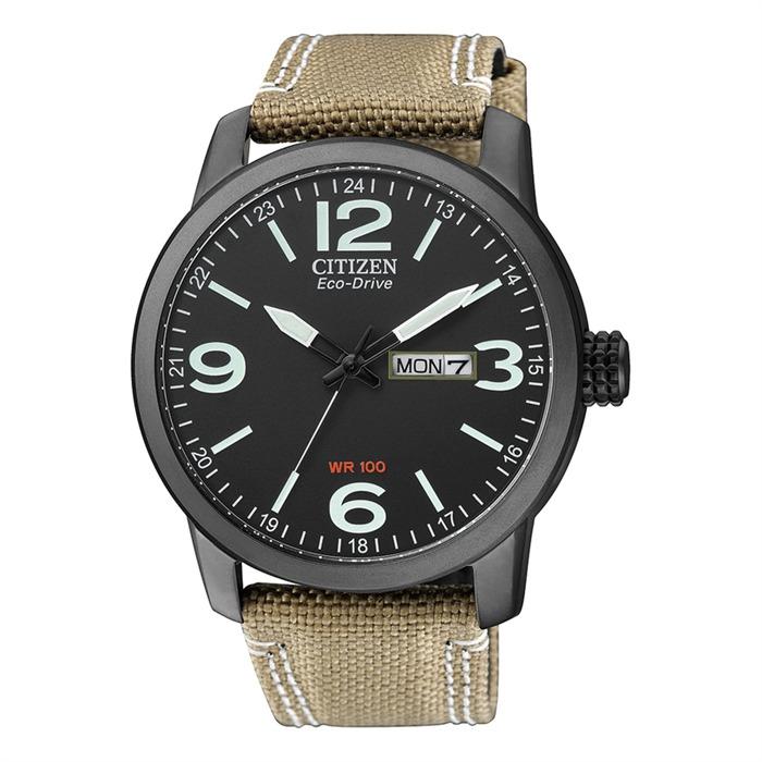 Uhr für Herren Textilarmband