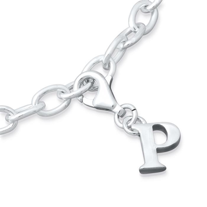 Silber Charm mit Karabiner für Bettelarmbänder