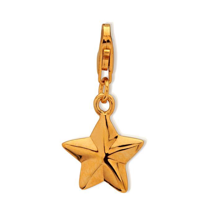 925 Silber Stern Charm zum Sammeln & Kombinieren