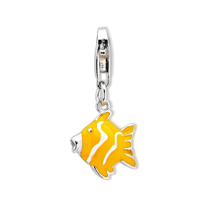 Silber Fisch Charm für Bettelarmbänder