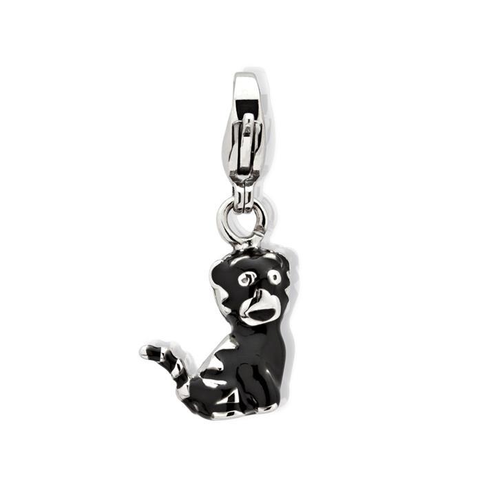Edelstahl Charm Katze für Bettelarmbänder