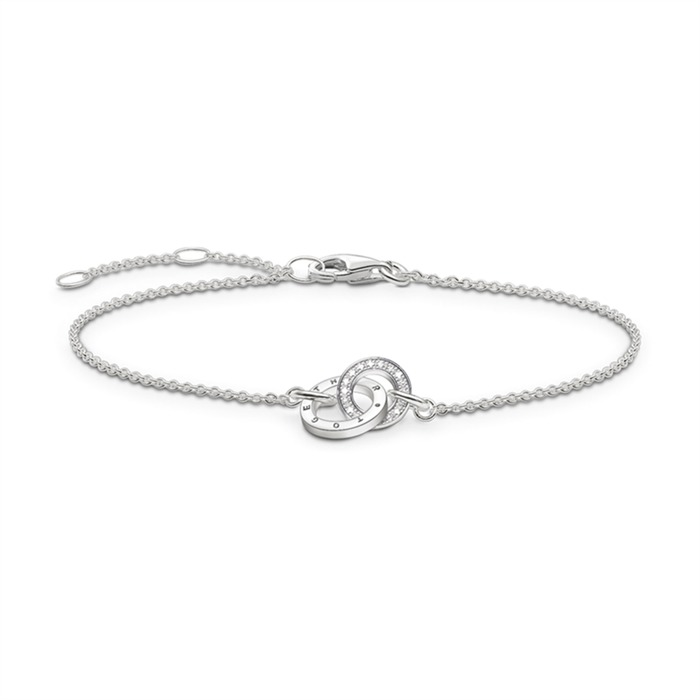 Armband Together Forever Silber Diamanten