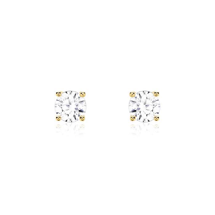 Diamant Ohrstecker aus 585er Gold