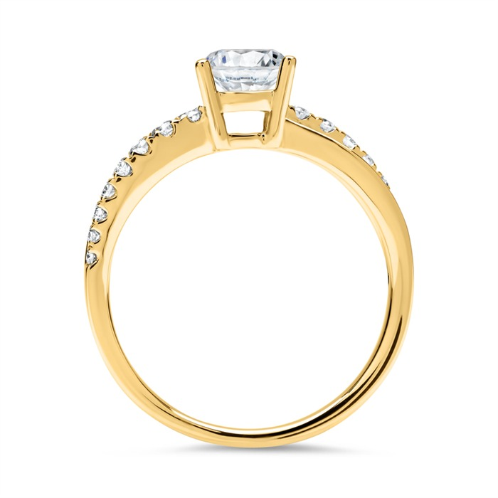 Ring 750er Gold mit Brillanten