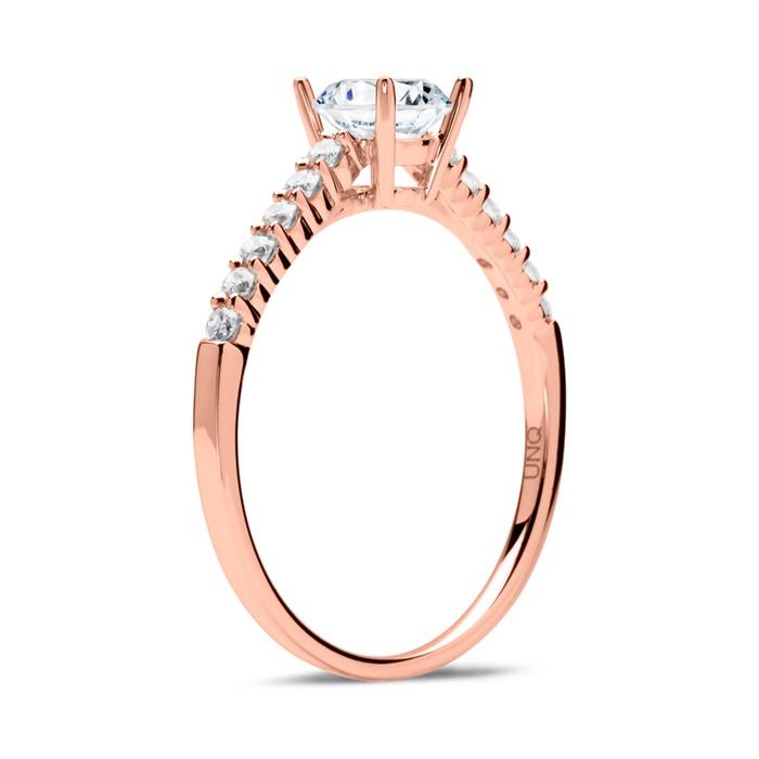 Diamant Ring 585er Roségold
