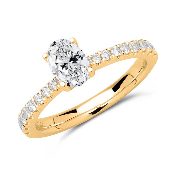 Diamant Ring 750er Gold