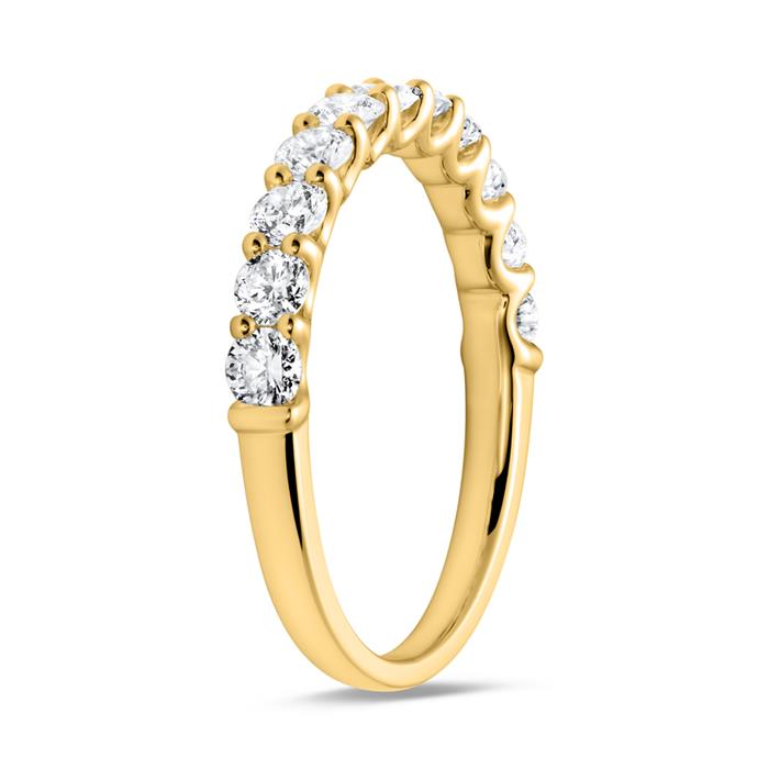 Eternity Ring 750er Gold Diamant