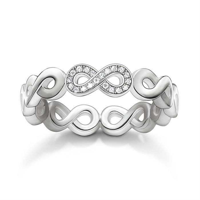 Infinity Ring Diamanten