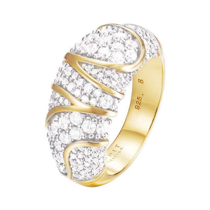 Ring gold mit Zirkonia