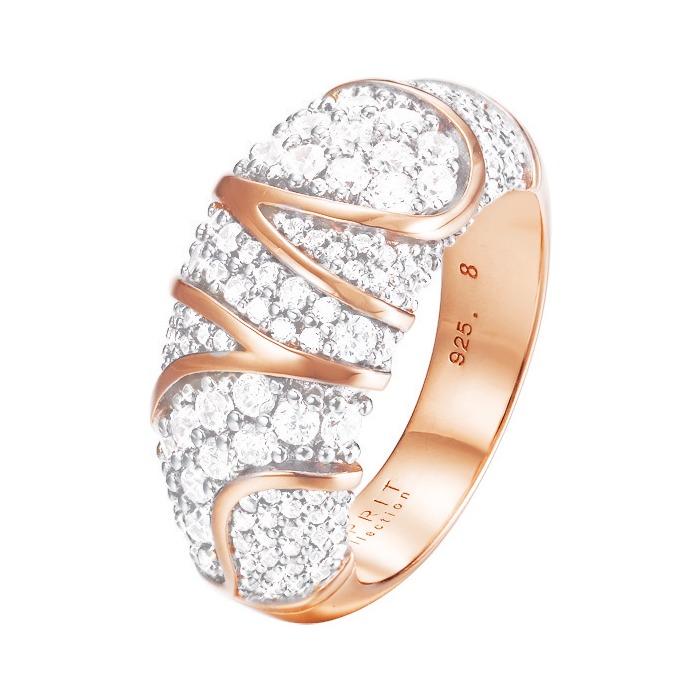 Ring rosé mit Zirkonia