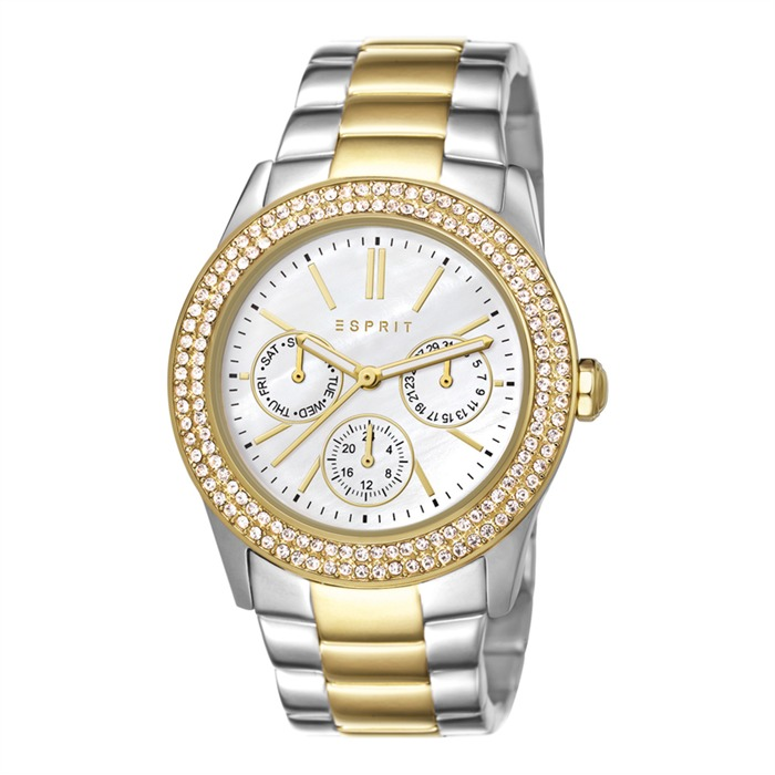 Uhr Peony Two Tone Gold