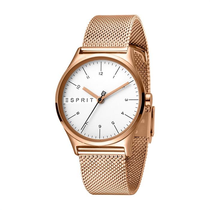 Uhr Essential für Damen roségold