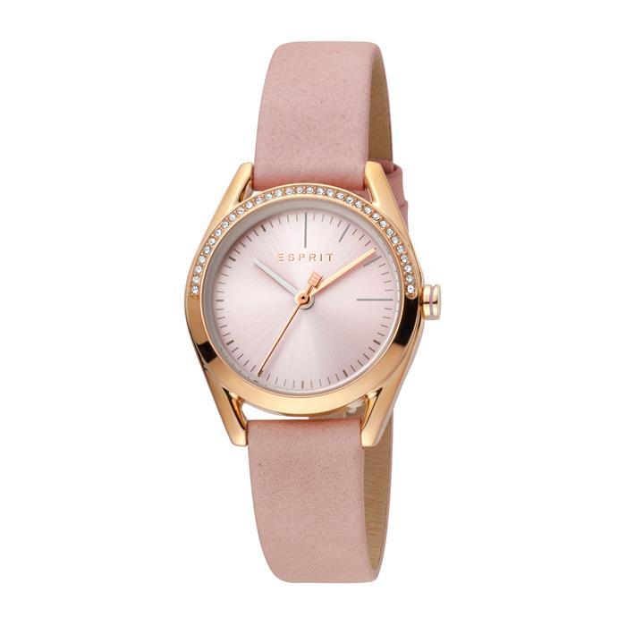Schmuckset Lock Stones Damenuhr und Armband rosé