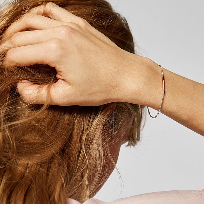 Armband Even für Damen aus Sterlingsilber rosé