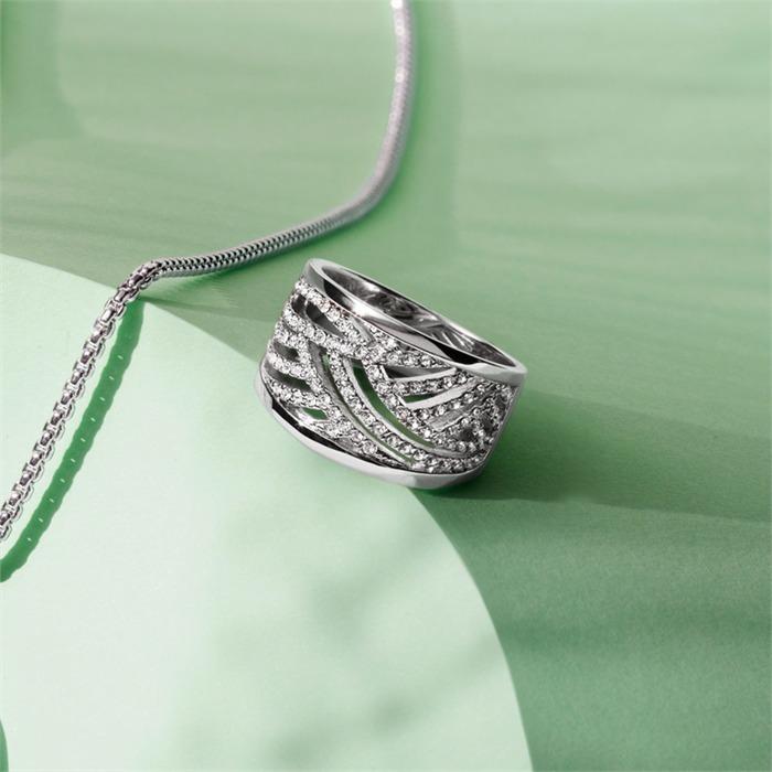 Zeitlos eleganter Ring Espirt