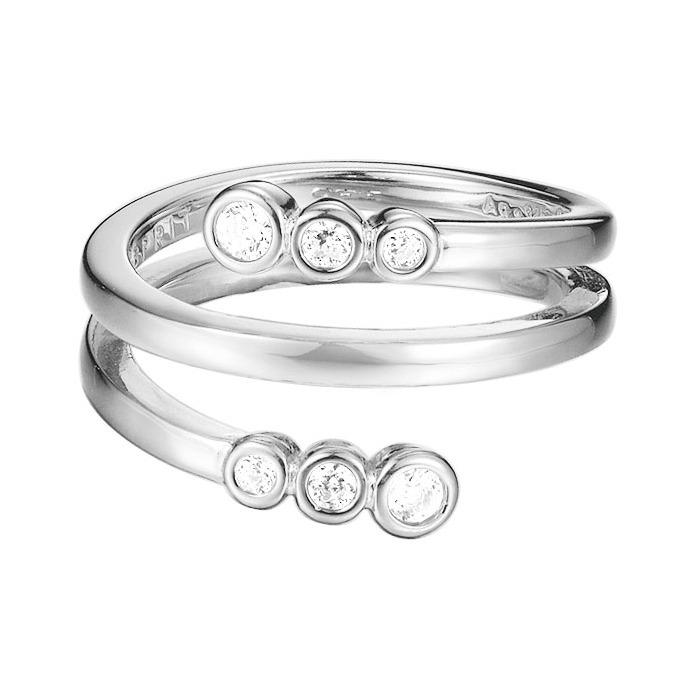 Twisted Ring Zirkoniabesatz