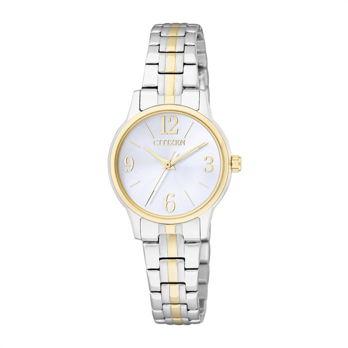 Basic Uhr Damen in silber gold