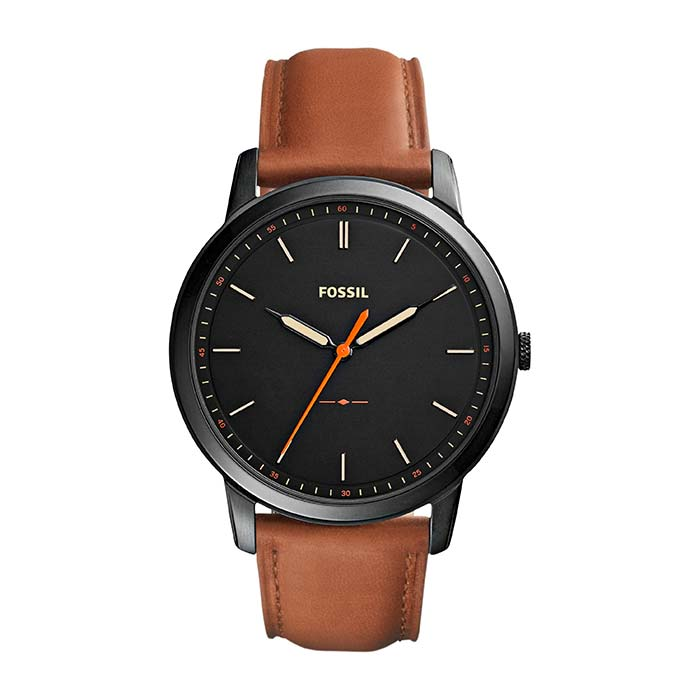 Men's Watch The Minimalist With Leather Strap