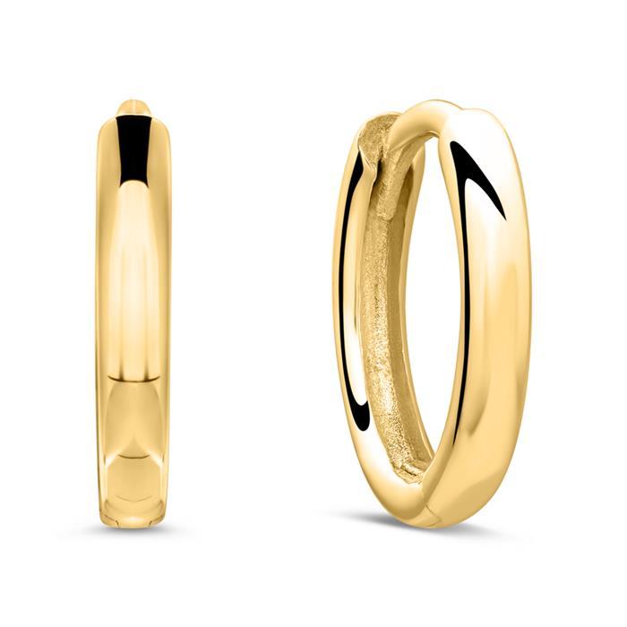 Creolen für Damen aus 9-karätigem Gold