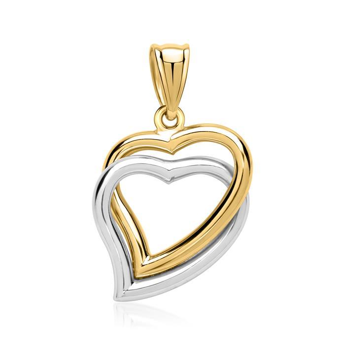 Kette mit Herzanhänger 333er Gold