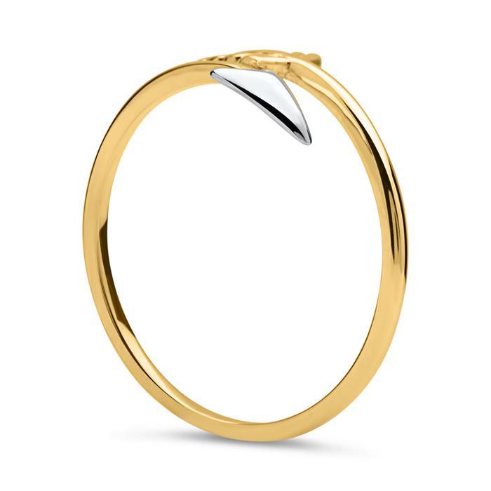Ring im Pfeil-Design 333er Gold