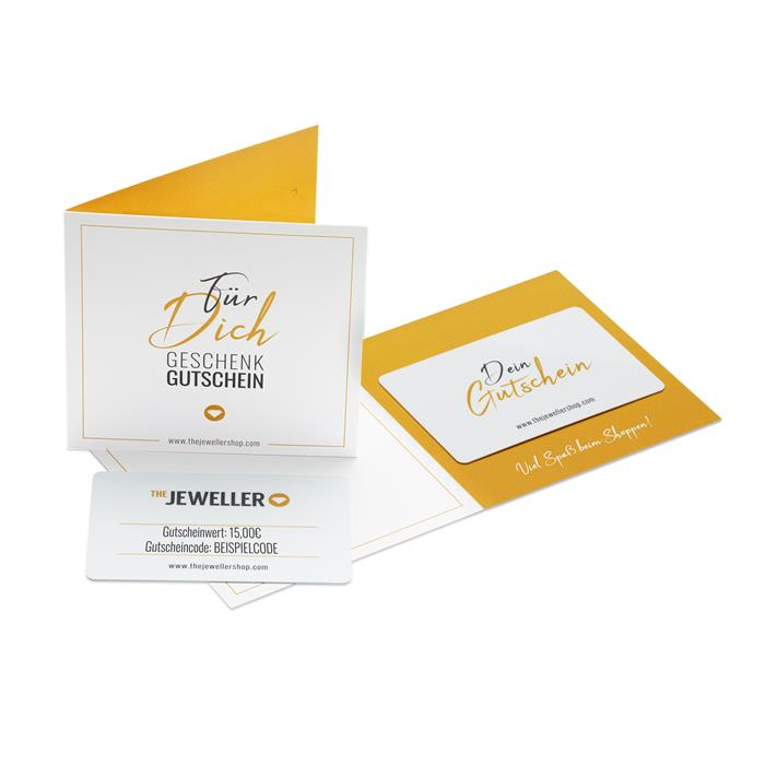 Geschenkgutschein 15,- EUR mit persönlicher Grußkarte