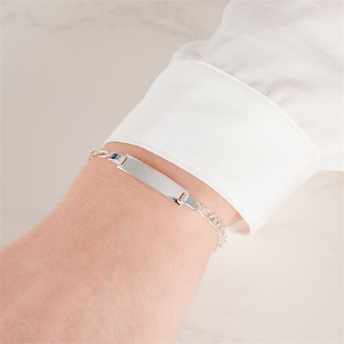 Figaro Armband Gravur