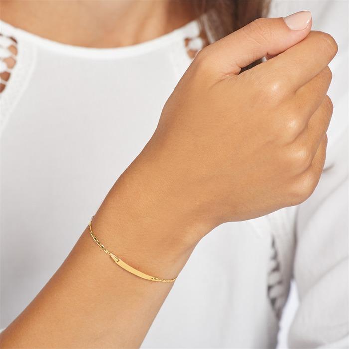 Gravierbares Armband aus 375er Gold