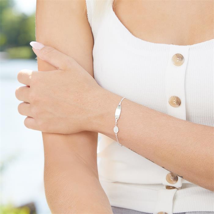 Gravierbares Armband aus 925er Silber