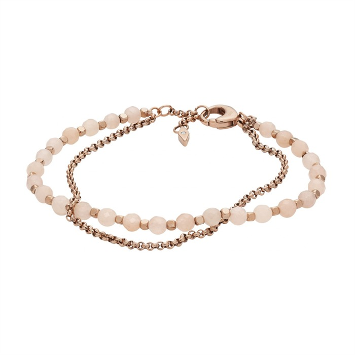 Edles Armband rosé mit Steinen