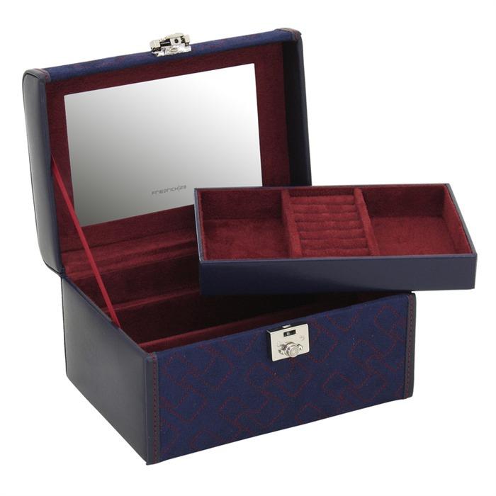 Kleiner Schmuckkasten Oblique mit Einsatz