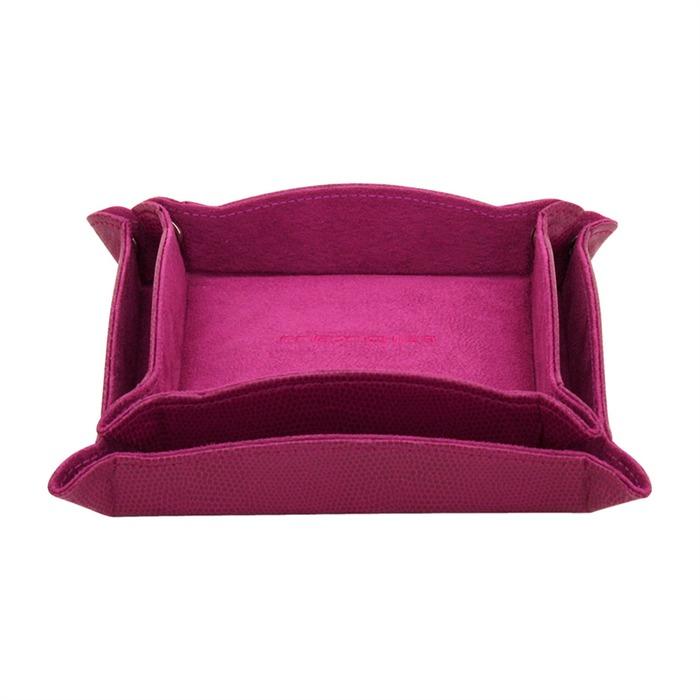 Schmuck Ablageset Echsenprägung in Pink