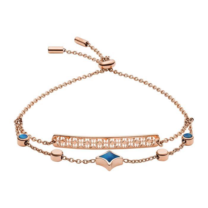 Damen Armband Classics aus rosévergoldetem Edelstahl