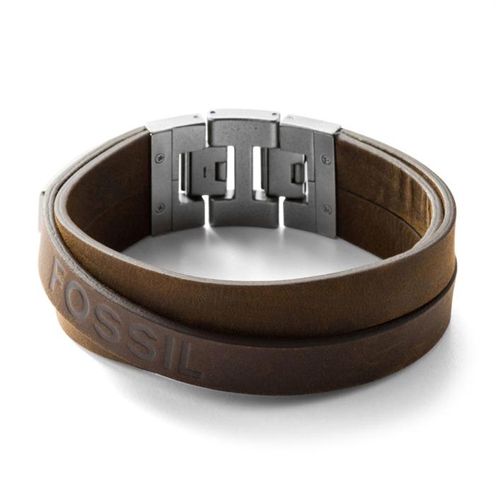 Herren-Armband Leder