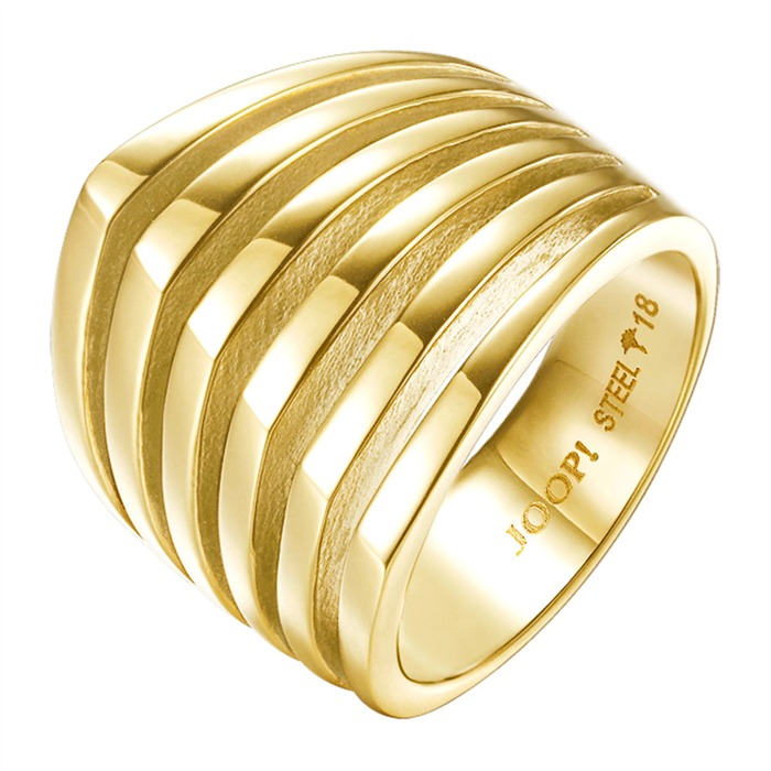 Moderner Ring Streifen Design