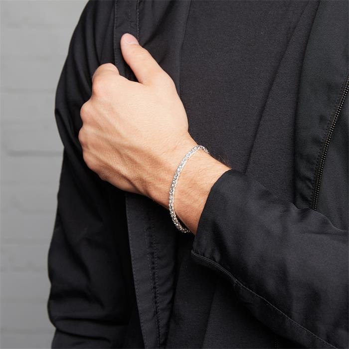 925 Silberarmband: Königsarmband Silber 3,5mm