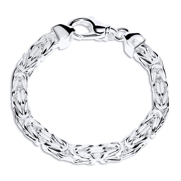 925 Silberarmband: Königsarmband Silber 7,5mm