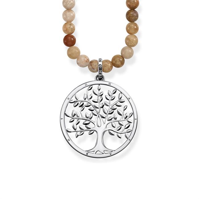 Kette Lebensbaum Jaspis