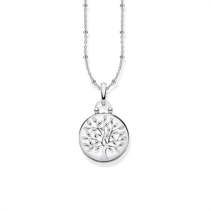 Medaillon Kette Tree of Love aus Sterlingsilber