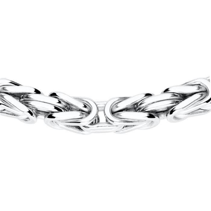 Herren Königskette aus 925er Silber, 4,0 mm
