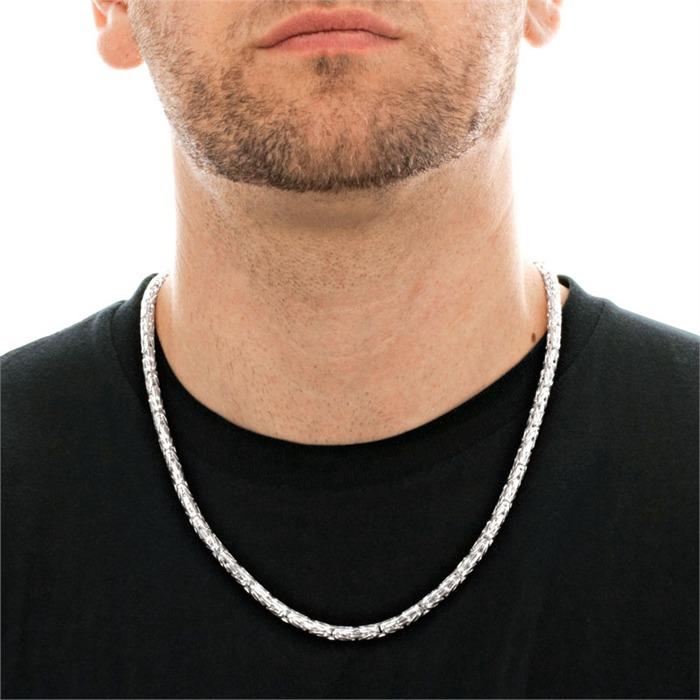925 Silberkette: Königskette Silber 5mm
