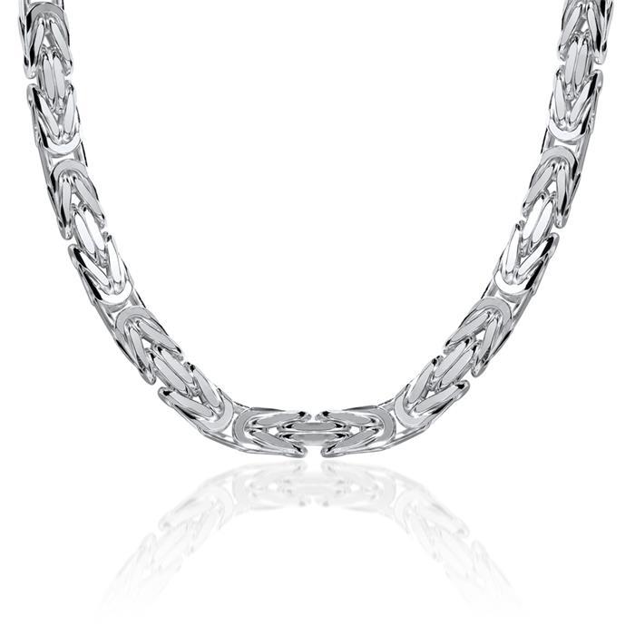 925 Silberkette: Königskette Silber 7,5mm