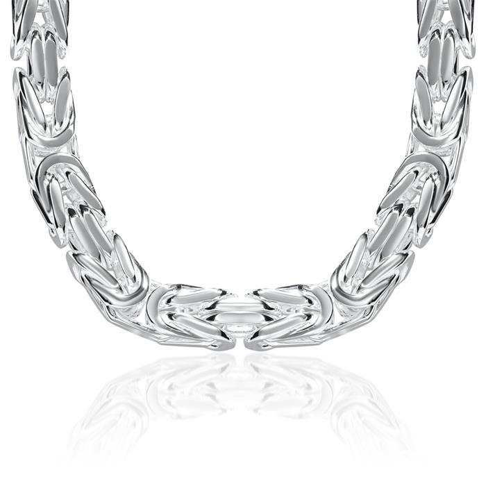 925 Silberkette: Königskette Silber 12mm