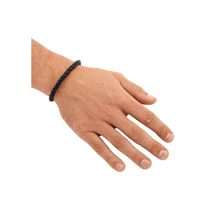 Leder Armband 7 mm Edelstahl Verschluss