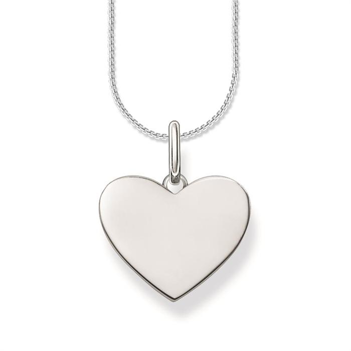 Anhänger Herz Gravur Silber